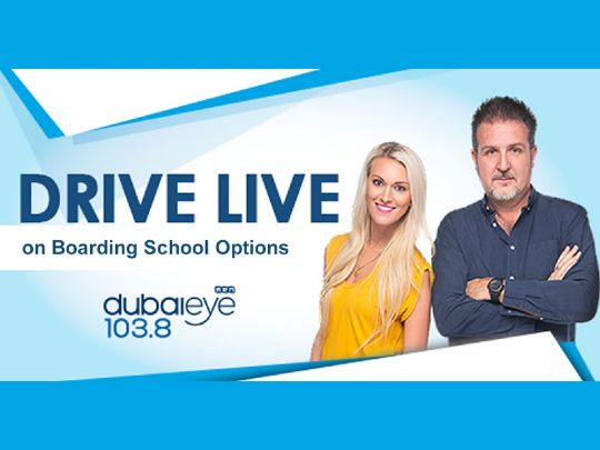 Drive Live Radio Interview discussing Boarding School Options