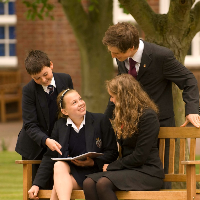 Kent College Canterbury boarding pupils