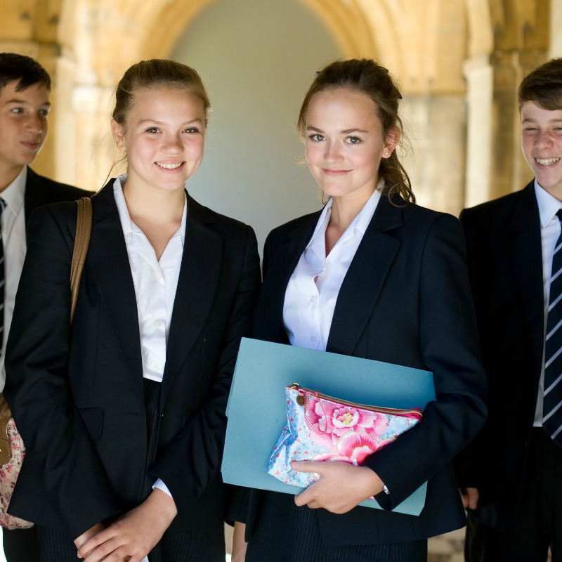 students at Lancing College West Sussex