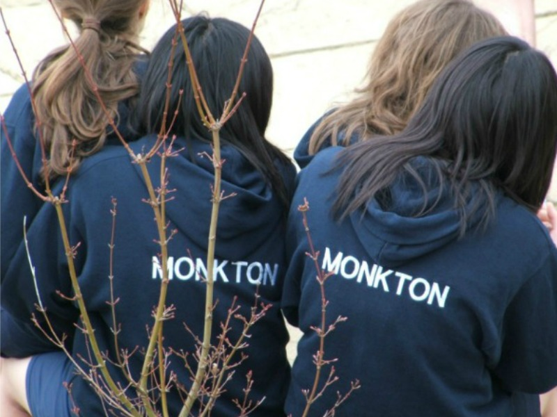 enjoying boarding life at Monkton Combe School