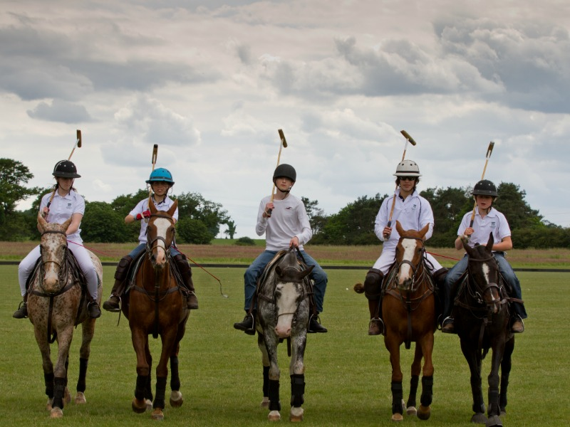 polo match at Langley School