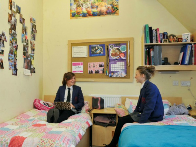 boarding house at Rossall School