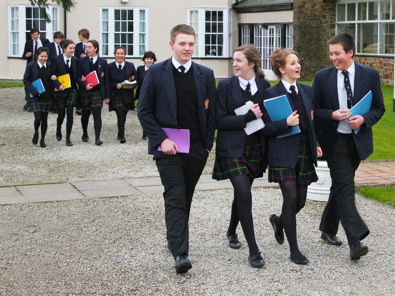 school uniform is an important part of a traditional boarding school