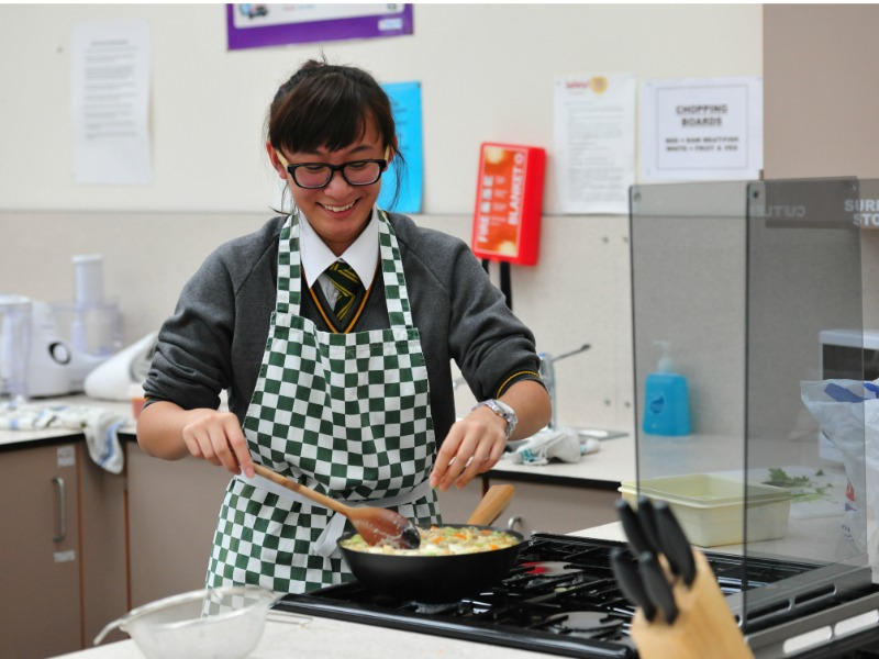 cookery lessons are practical and fun