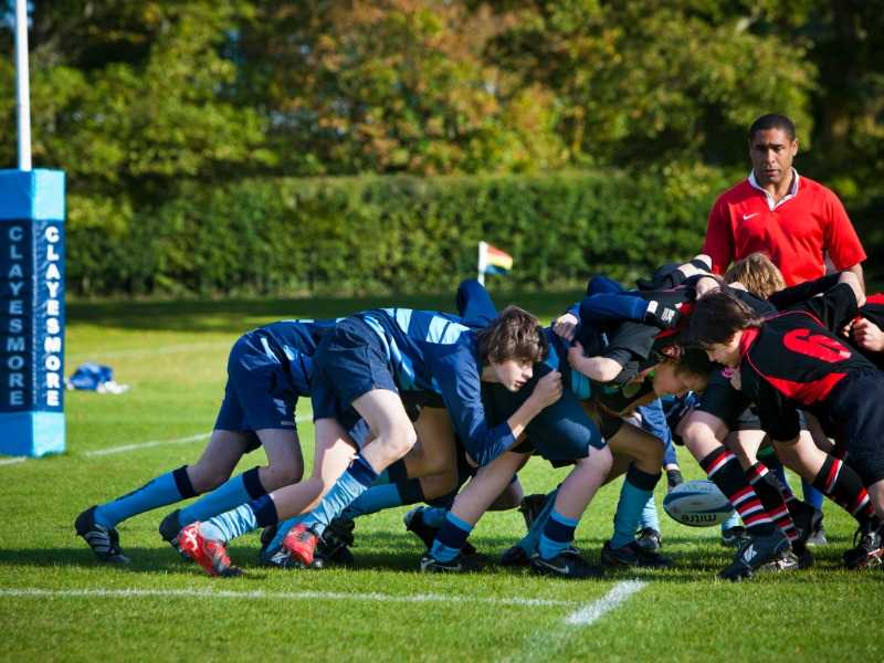 rugby is the winter sport at boarding school